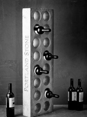 Portland Stone Wine Racks