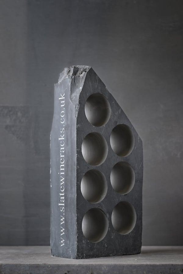 Slate Wine Racks | Contemporary Slate & Stone 7 hole