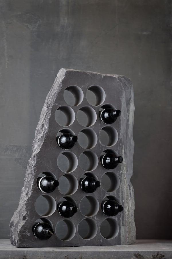 Slate Wine Racks | Contemporary Slate & Stone 23 Hole