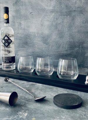 slate whiskey tray