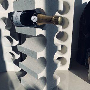 Portland Stone Edge Wine Rack