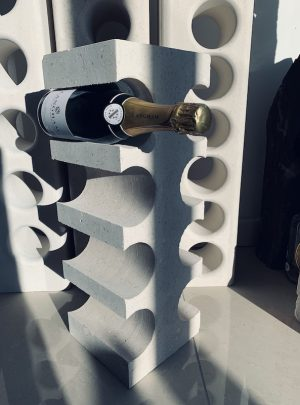 Portland Stone Edge Wine Rack