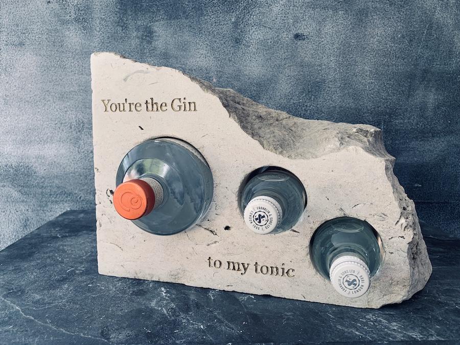 Portland Stone Gin & Tonic Rack
