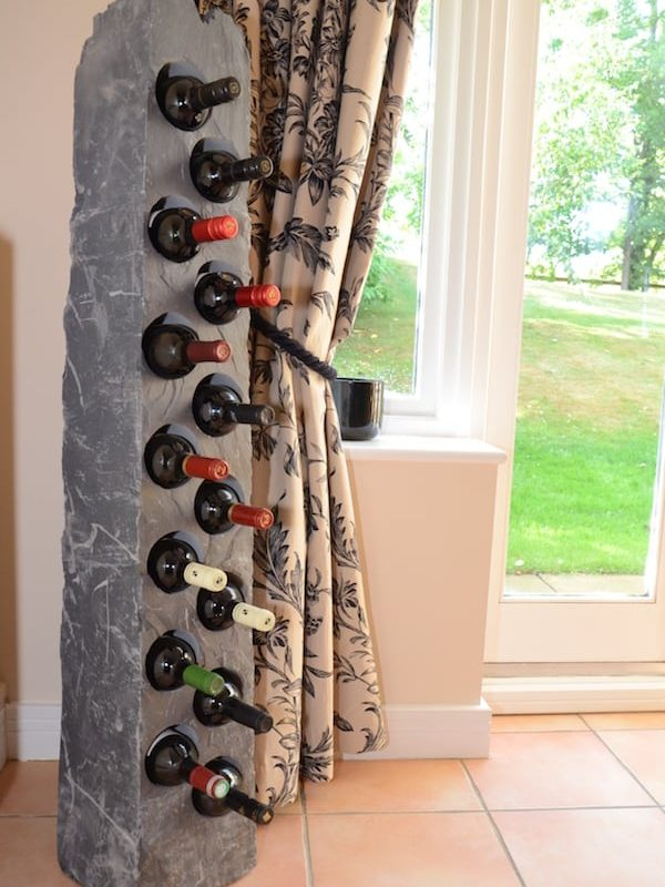 14 bottle hole slate wine racks 14swr2